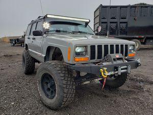 Jcr XJ winch bumper with fairlead for Sale in Littleton, CO