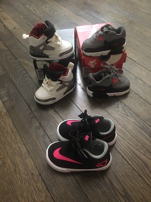 Jordan and Air max size 4/ KD size 5 for Sale in Laurel, MD