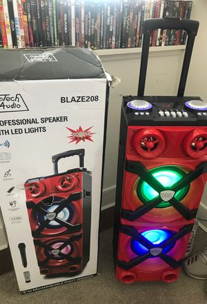 Stereo    Bluetooth    Radio    Aux    Mic    Portable for Sale in Maywood, NJ