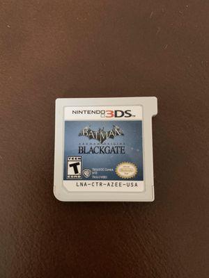 Batman Arkham Origins Blackgate Nintendo 3DS for Sale in Hudson, FL