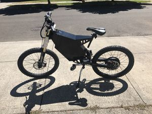 Like New 72v 3000w Bomber Style Electric Bike eBike bicycle for Sale in Happy Valley, OR