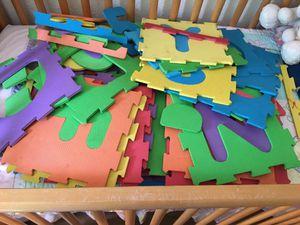 Abc1/9 f foam puzzle 🧩 for Sale in El Cajon, CA