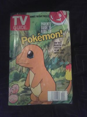 Collectible TV Guide Pokemon number 4 of four collectors addition for Sale in Modesto, CA
