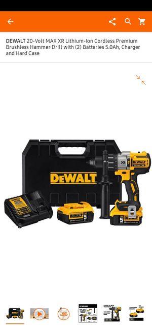 Dewalt 20v drill and Auto jump box for Sale in Sumner, WA