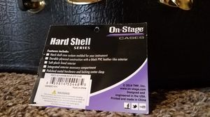 OnStage hard shell guitar case for Sale in City of Industry, CA