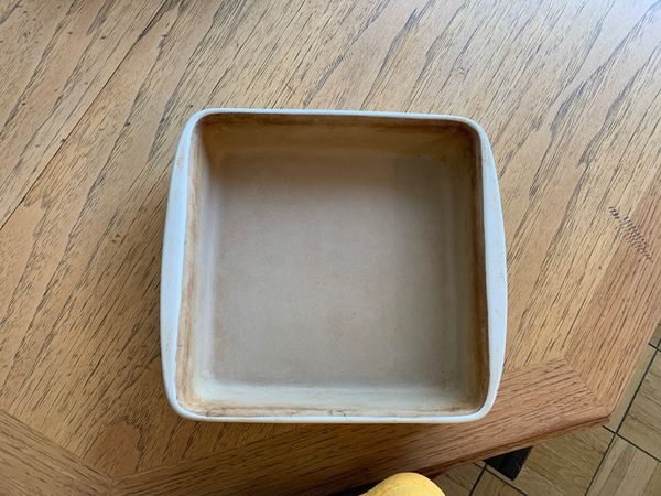 "8"" by 8"" Pampered Chef Stone Pan"