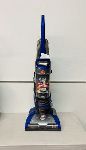 Hoover - WindTunnel 2 Whole House Rewind Bagless Upright Vacuum - Blue for Sale in Garden Grove, CA
