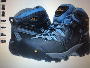 Keen women's Detroit Mid soft toe hiking boots,7 Wide new. Website $150 for Sale in IL, US