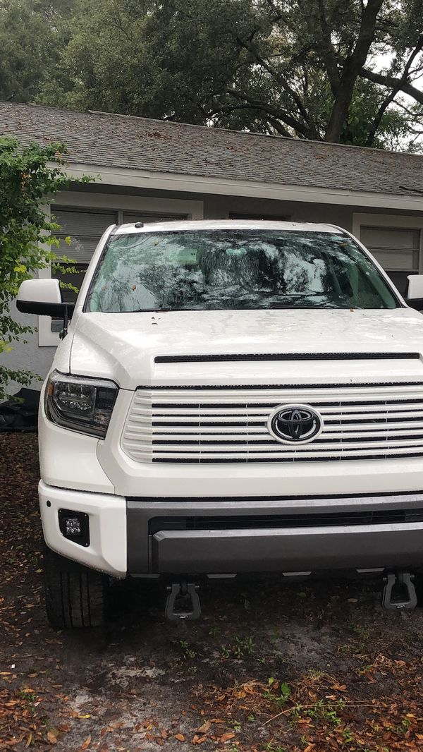 2017 1974 Edition Toyota front grill painted in white