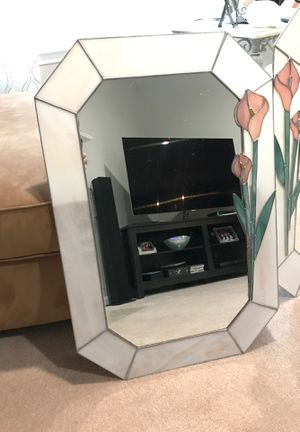 Stain glass mirrors for Sale in Mount Airy, MD