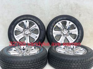 """20"""" Ford F-150 Expedition OEM 2018 rims wheels tire CHROME 10171 2016 2017 2019 Like new package deal for Sale in Macomb, MI"""