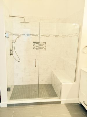 Frameless shower doors & Mirrors for Sale in Laurel, MD