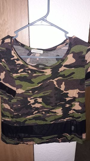 Camouflage t-shirt for Sale in Tacoma, WA