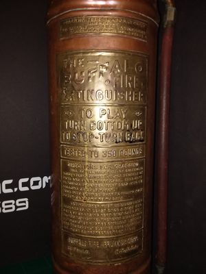 Copper and Brass Vintage fire Extinguisher for Sale in Pinson, AL