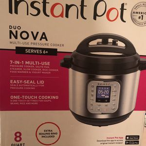 Instant Pot Duo Nova Multi Use Pressure Cooker for Sale in Rockville, MD
