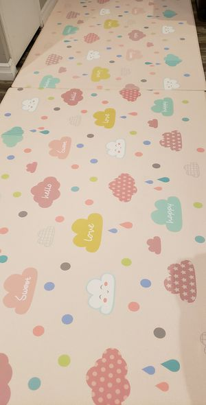 Two BABY CARE Reversible Happy Cloud play mats for Sale in Tempe, AZ