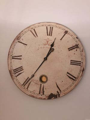 Vintage wall clock 24 inches for Sale in Arlington, VA