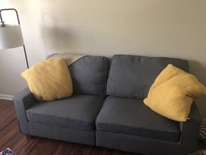 Grey Loveseat Sofa for Sale in Lexington, KY