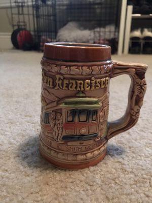 San Francisco cable car China town souvenir beer stein for Sale in Sacramento, CA