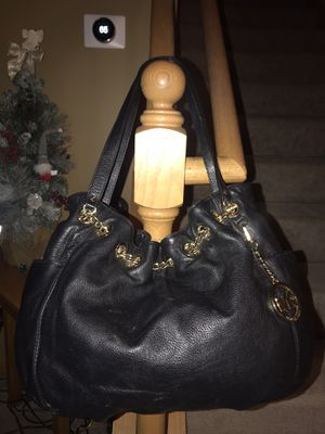 Michael Kors Black Leather Bag for Sale in Monticello, MN