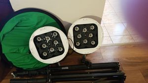 professional video lights (no bulbs) for Sale in Alexandria, VA