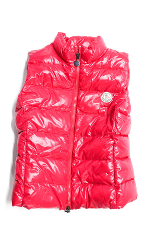 MONCLER Girl Sleeveless Zip Up Down Vest, size 12 for Sale in Washington, DC