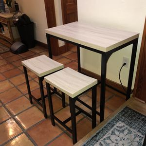 3-Piece Bar Table & Stools for Sale in Miami, FL