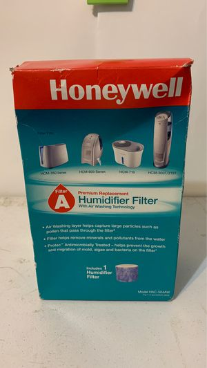 Honeywell Premium Replacement Humidifier Filter HAC-504AW for Sale in Dallas, TX
