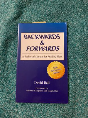 Ball's Backwards and Forwards: A Technical Manual for Reading Plays for Sale in Ithaca, NY