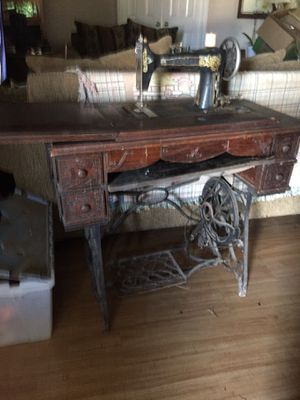 Vintage Antique sewing machine for Sale in Grand Prairie, TX