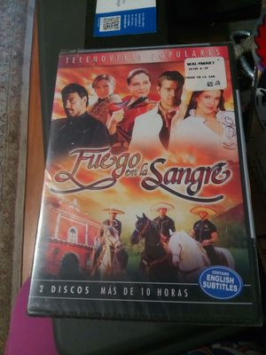DVD New. Fuego en la Sangre for Sale in Pomona, CA