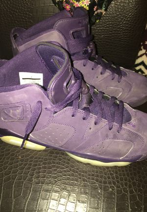 Air Jordan 6 retro GG' purple dynasty for Sale in Silver Spring, MD