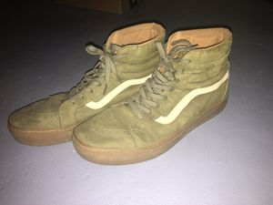 Men's Army green vans 11.5 for Sale in Columbus, OH