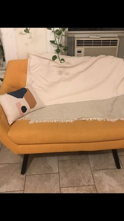 Yellow Loveseat for Sale in Brooklyn,  NY