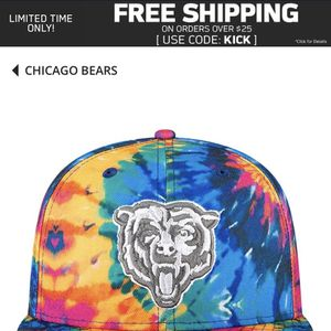 Chicago Bears Tie Dye SnapBack for Sale in Zion, IL