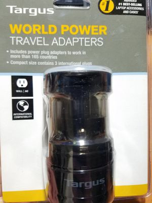 Brand New World Power Travel Adapters - 3 International Plugs for Sale in Garden Grove, CA