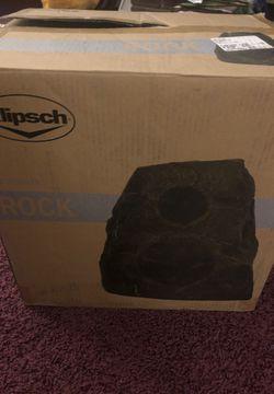 Klipsch- outdoor Rock Speaker for Sale in Evesham Township,  NJ