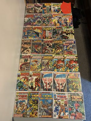 Comic books! Everything pictured and more! for Sale in Augusta, KS