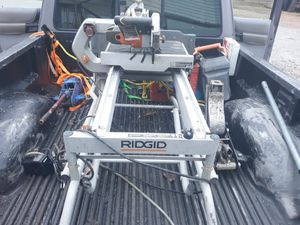 Rigid Wet Saw with Utility Vehicle for Sale in Joplin, MO