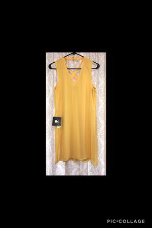 NWT • I.N. San Francisco • Yellow Dress • Medium for Sale in Midlothian, TX