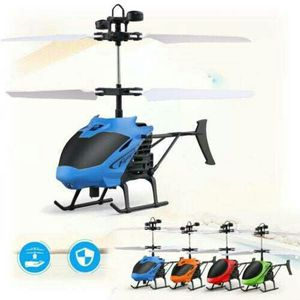 Brand New Flying Mini RC Infraed Induction Helicopter Aircraft Flashing Light Kids Gift MH for Sale in Detroit, MI