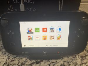Wii Nintendo, Wii U, three controllers, two games for Sale in Lake Worth, FL