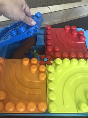 Mega Blocks Table with Storage and extra bag of blocks for Sale in Lake Worth, FL