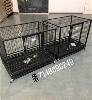 """Dog pet cage kennel size 37"""" medium set of 2 new in box 📦 for Sale in Pomona, CA"""