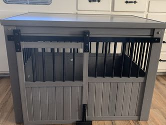 New Beautiful EcoFlex Large Barn Door Dog Crate for Sale in Stockton,  CA