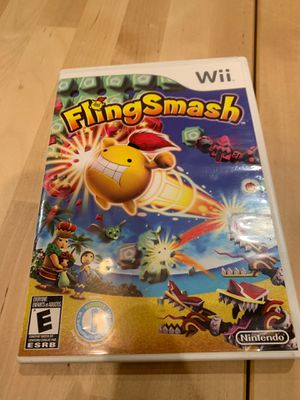 Nintendo Wii U Super Smash Bros. Wii Fling Smash Bundle for Sale in Pembroke Pines, FL