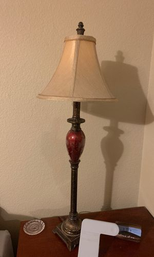 Two table lamps with matching standing lamp for Sale in Newport News, VA