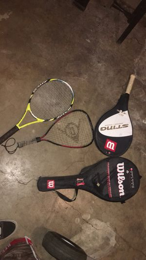 4 new Tennis rackets for Sale in Austin, TX