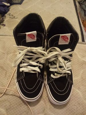 White And Black Vans for Sale in Washington, DC