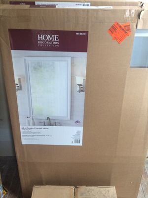 Home decorators collection 28in picture frame mirror for Sale in Cuyahoga Heights, OH